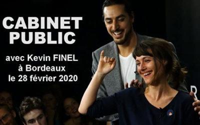 Cabinet public à Bordeaux – Kevin Finel – Directeur de l'ARCHE